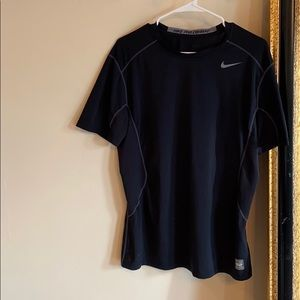Nike Pro Combat Dri Fit fitted shortsleeve top
